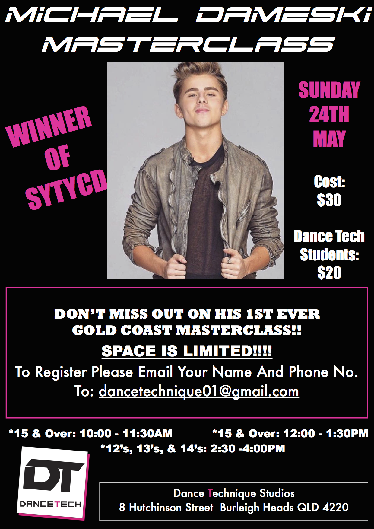MICHAEL DAMESKI Workshop